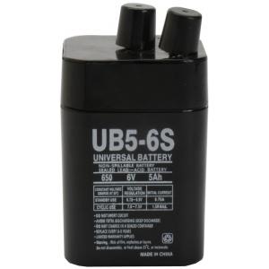 UPG Sealed Lead Acid AGM: UB650S Lantern, 5 AH, 6V