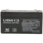 UPG Sealed Lead Acid AGM: UB613, 1.3 AH, 6V