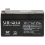 UPG Sealed Lead Acid AGM: UB1213, 1.3 AH, 12V