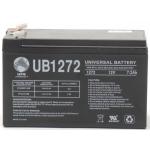 UPG Sealed Lead Acid AGM: UB1272, 7.2 AH, 12V