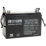 UPG Flame Retardant Sealed Lead Acid AGM: UB121100FR, 110 AH, 12V