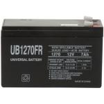 UPG Flame Retardant Sealed Lead Acid AGM: UB1270FR, 7 AH, 12V